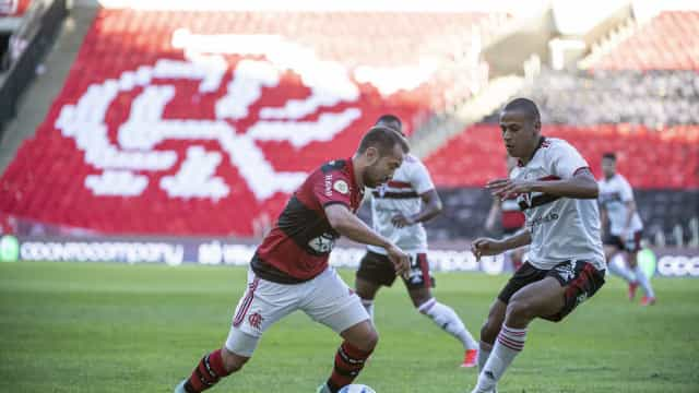 São Paulo sai na frente, mas leva goleada do Fla e se complica mais no Brasileiro