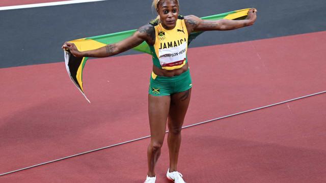Elaine Thompson vence e quebra recorde olímpico dos 100 m rasos em Tóquio