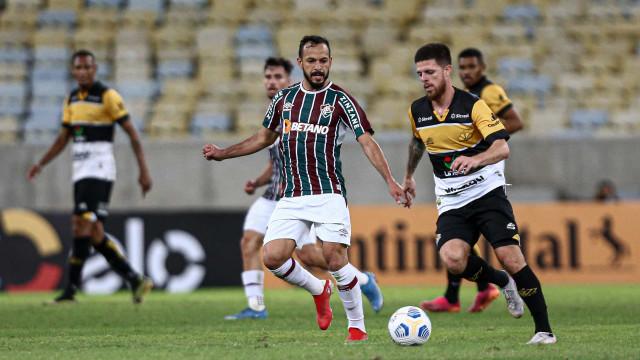 Fluminense alivia crise com boa vitória sobre Criciúma e vaga na Copa do Brasil