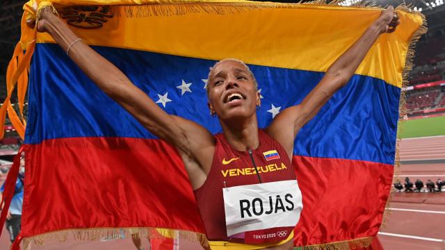 Venezuelana bate recorde mundial mais velho que ela no salto triplo em Tóquio-2020