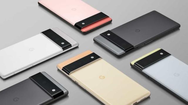 Pixel 6 da Google também será vendido sem carregador