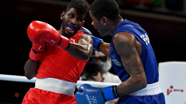Wanderson de Oliveira perde para cubano no boxe e está fora dos Jogos de Tóquio