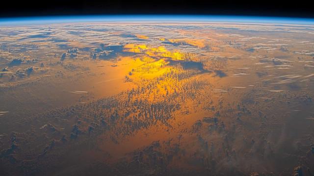 Astronauta mostra que o pôr do sol tem outra beleza visto do Espaço