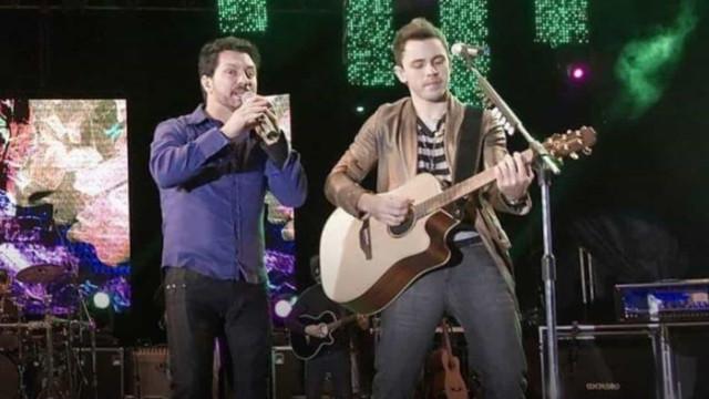 Lucas e Luan gravam DVD em homenagem a Milionário e José Rico em Barretos