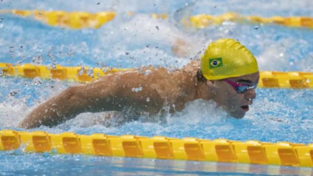 Paralimpíada: Gabriel Dias brilha nas eliminatórias da natação