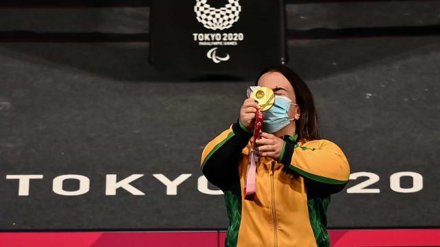 Brasil tem 4 novos campeões das Paralimpíadas, com 3 ouros de mulheres