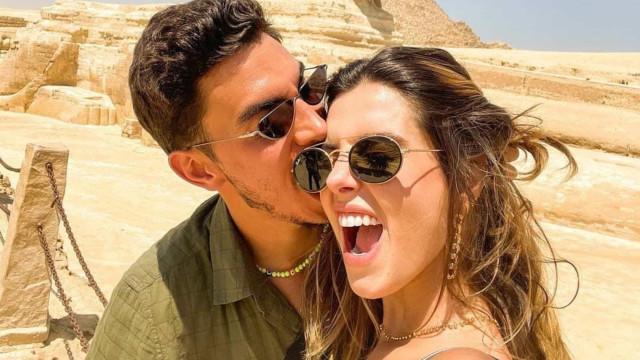 Giovanna Lancellotti assume namoro com Gabriel David, ex de Anitta