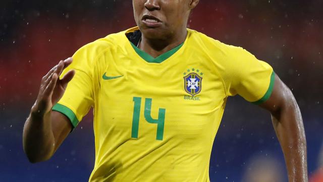 Daiane projeta período de preparação proveitoso para a seleção brasileira