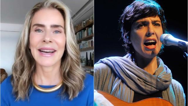 Maitê Proença e Adriana Calcanhoto estão tendo um suposto romance