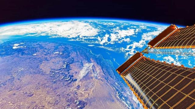 China compartilha vista da Terra a partir da estação espacial
