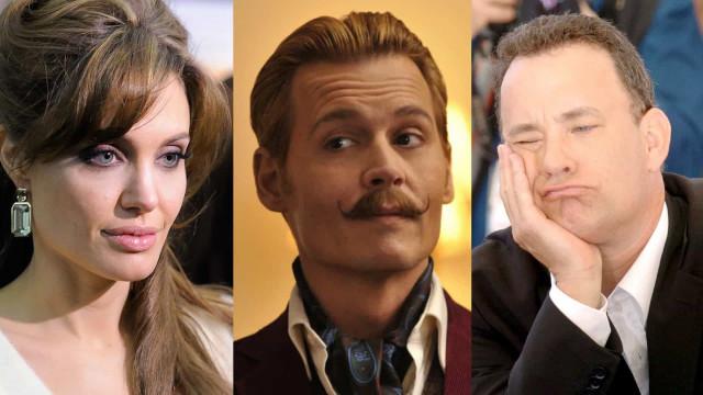 Os piores filmes das estrelas de Hollywood; quais você viu?