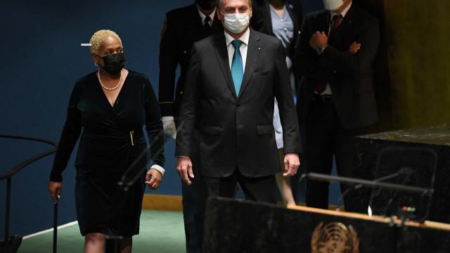 Na ONU, Bolsonaro diz que há desafios ambientais, mas exalta postura do País