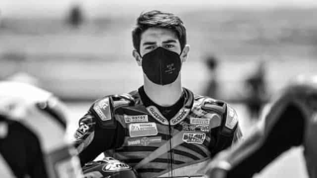 Jovem piloto de 15 anos morre após grave acidente em prova da Superbike em Jerez