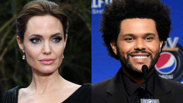 Jolie e The Weeknd juntos? Veja este e outros casais famosos recentes e super inesperados!