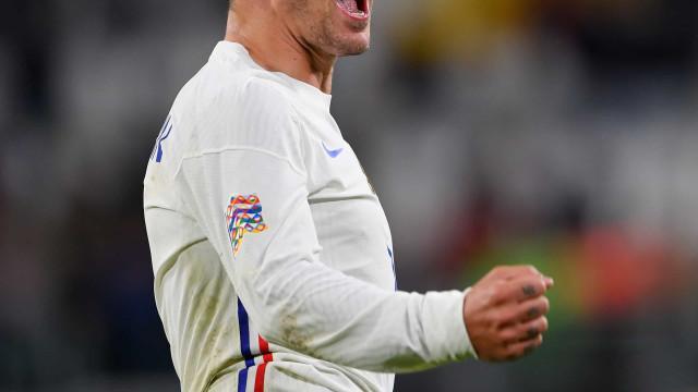 Com 3 gols no 2º tempo, França vira sobre a Bélgica e decide a Liga das Nações