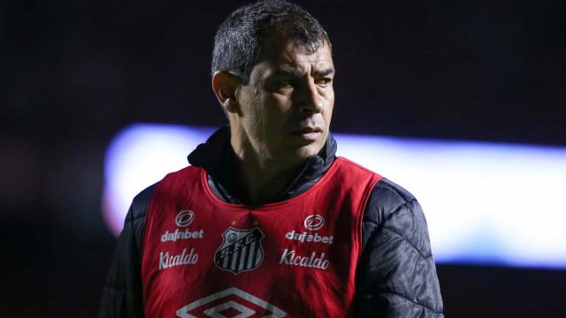 Com Carille ameaçado, Santos inicia série de 11 decisões contra a inédita queda