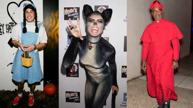 Melhores e piores fantasias dos famosos no Halloween!