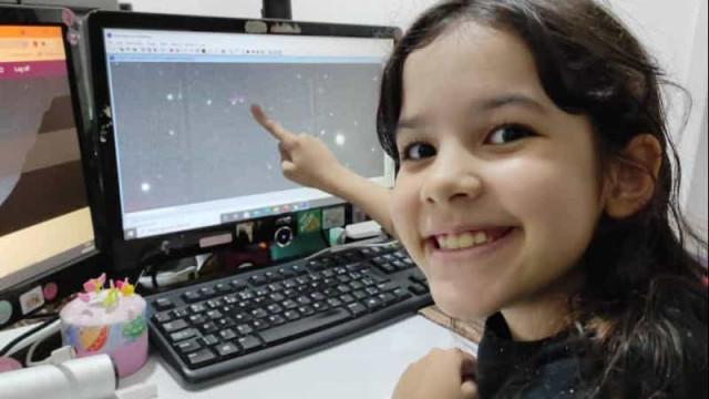 Alagoana de 8 anos pode se tornar a caçadora de asteroides mais jovem do mundo