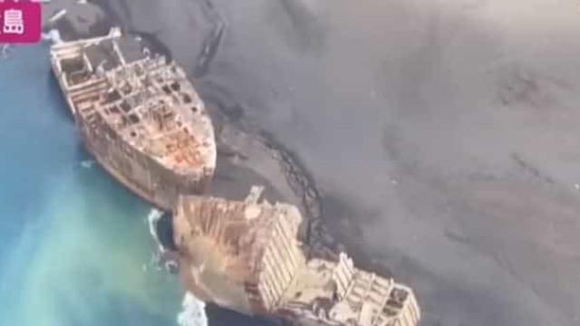 O mistério dos navios da Segunda Guerra Mundial que emergiram no Japão