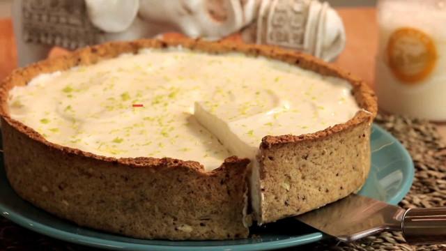 Receita: Torta de limão integral light