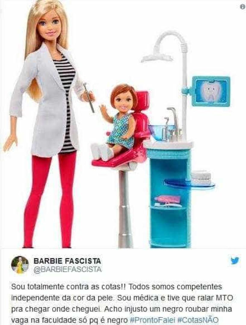 Barbie 'fascista' vira meme e conquista a web com sátira antipetista