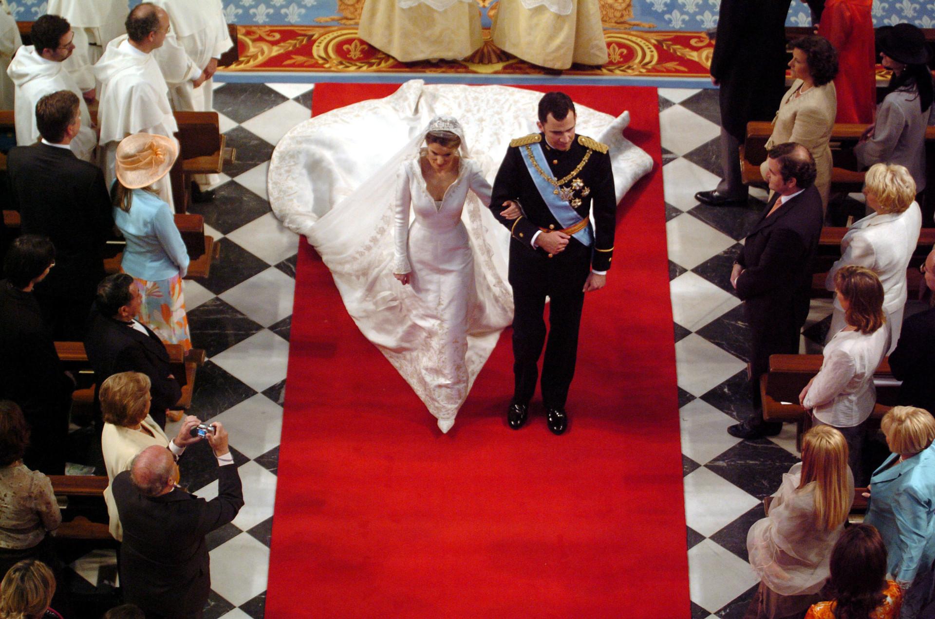 Realeza: quem teve o vestido de noiva mais deslumbrante?