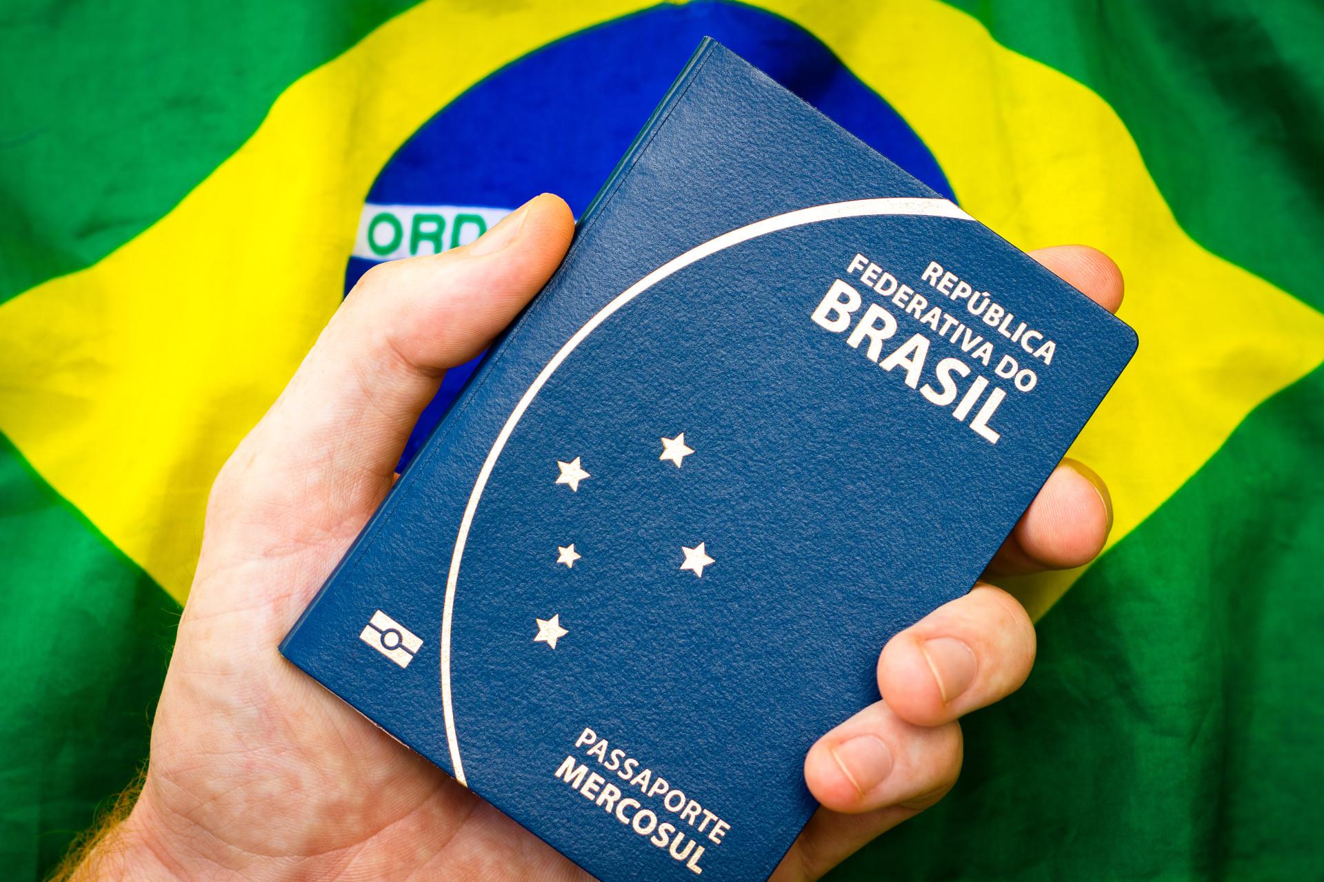 Brasil entra na lista dos passaportes mais poderosos do mundo!