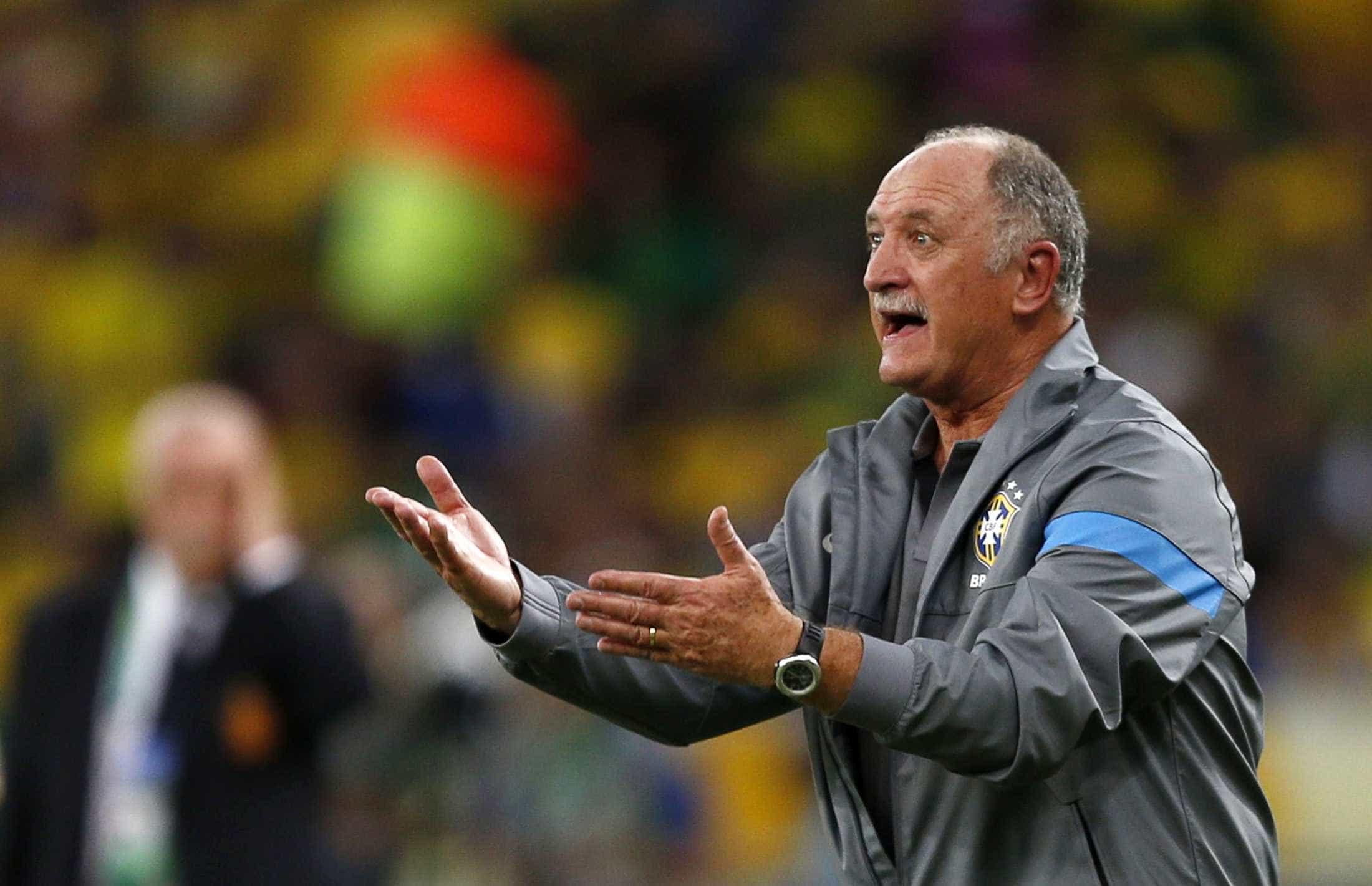 Felipão diz que Palmeiras é cobrado para 'ganhar de todo mundo'