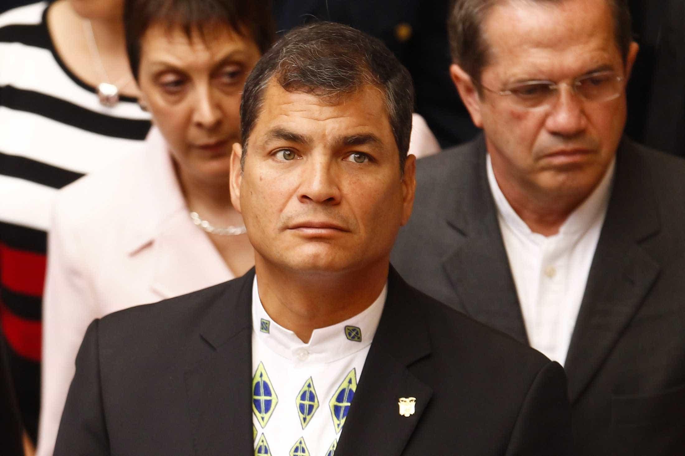Rafael Correa não se entregará à Justiça do Equador
