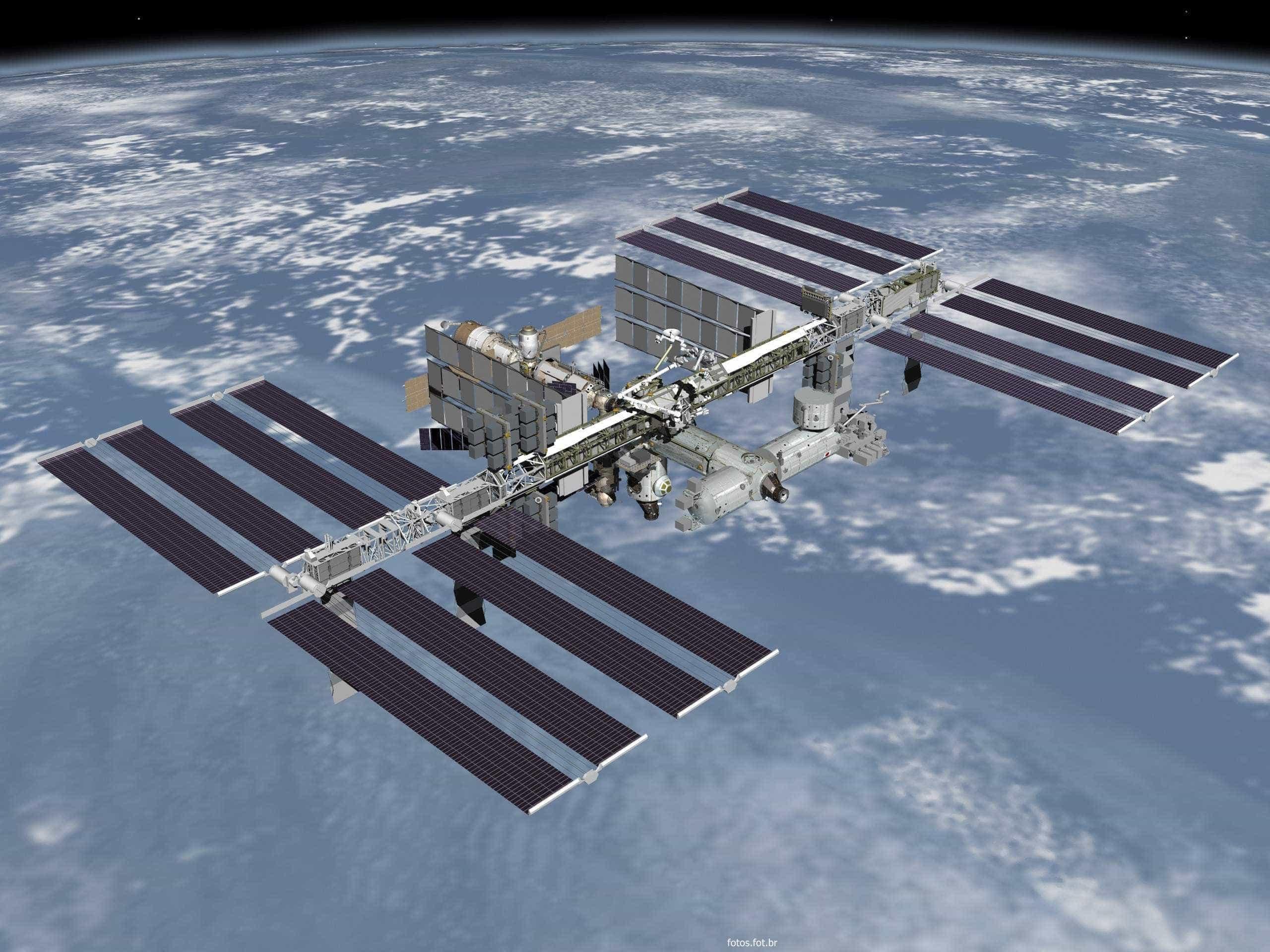 Vazamento de privada na estação espacial faz água flutuar no espaço