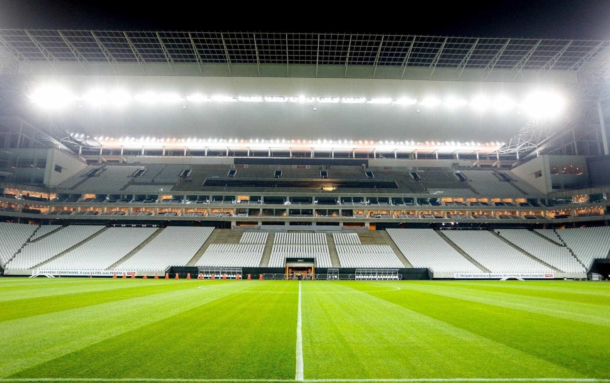 Arena Corinthians fica fora da Copa América 2019