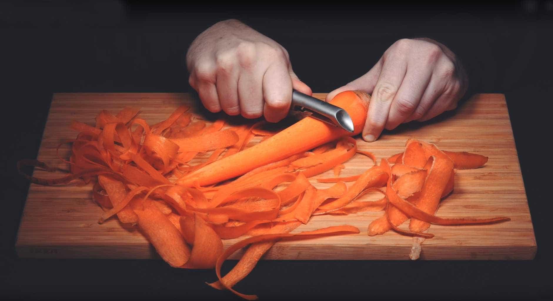 Resultado de imagem para cascas de cenoura