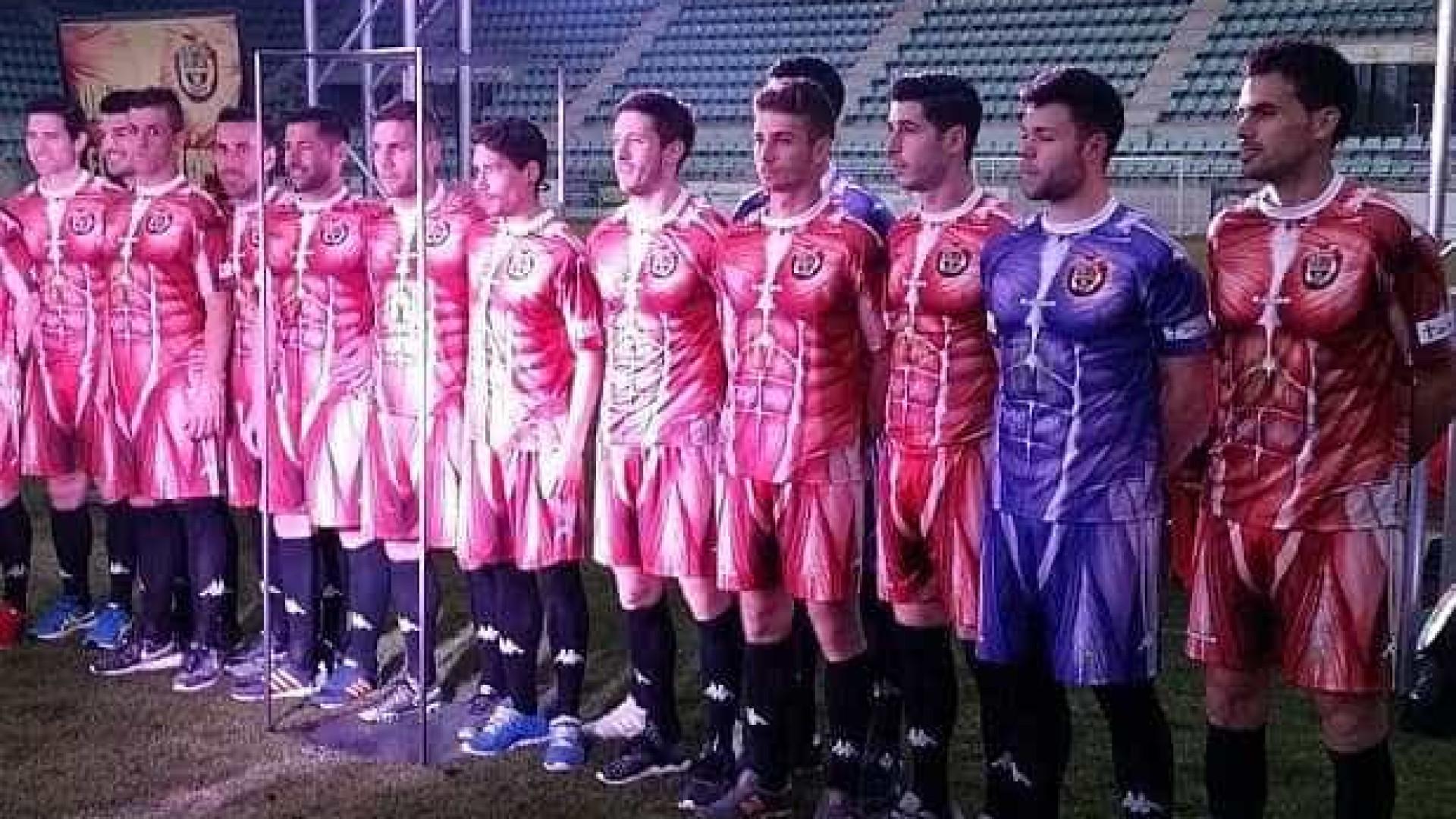 80993ff31c50b Time espanhol lança uniforme pra lista dos mais feios do mundo