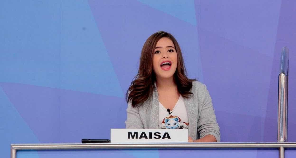Maisa contesta edição de áudios em que teria sido xingada por Raul Gil