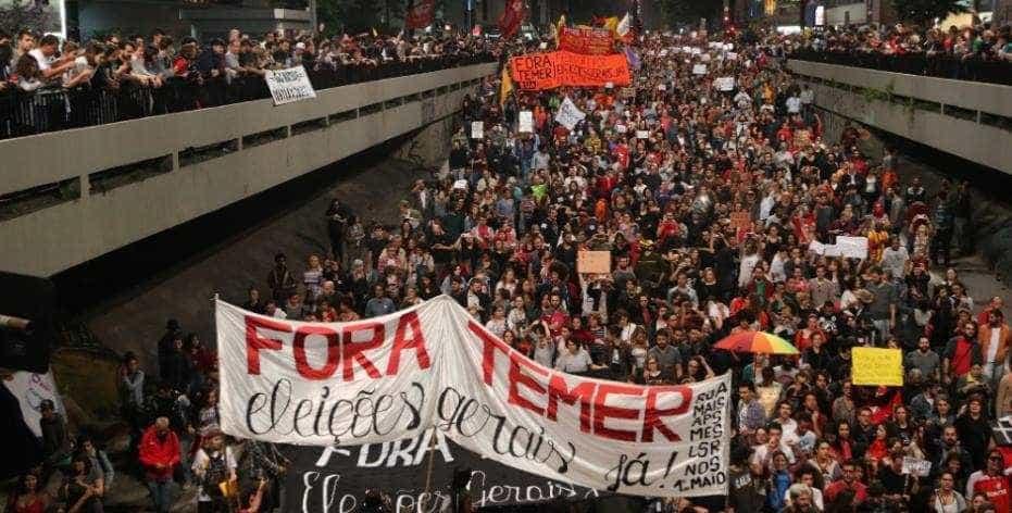 Esquerda protesta na quarta contra reforma da Previdência