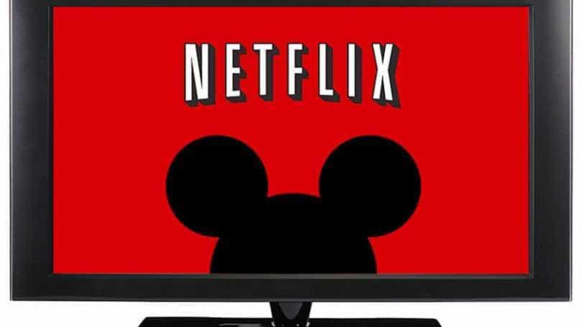 Netflix minimiza impacto de rivais Disney e Apple