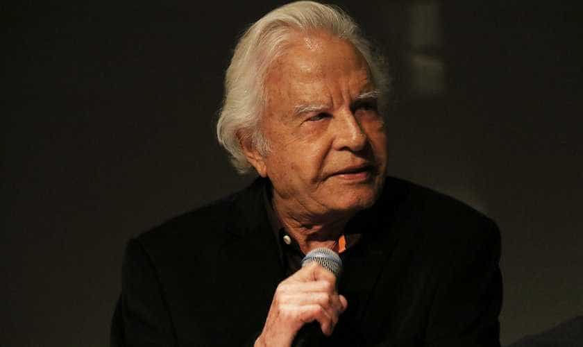Cid Moreira lamenta morte de Boechat e diz: jornalista de dar inveja