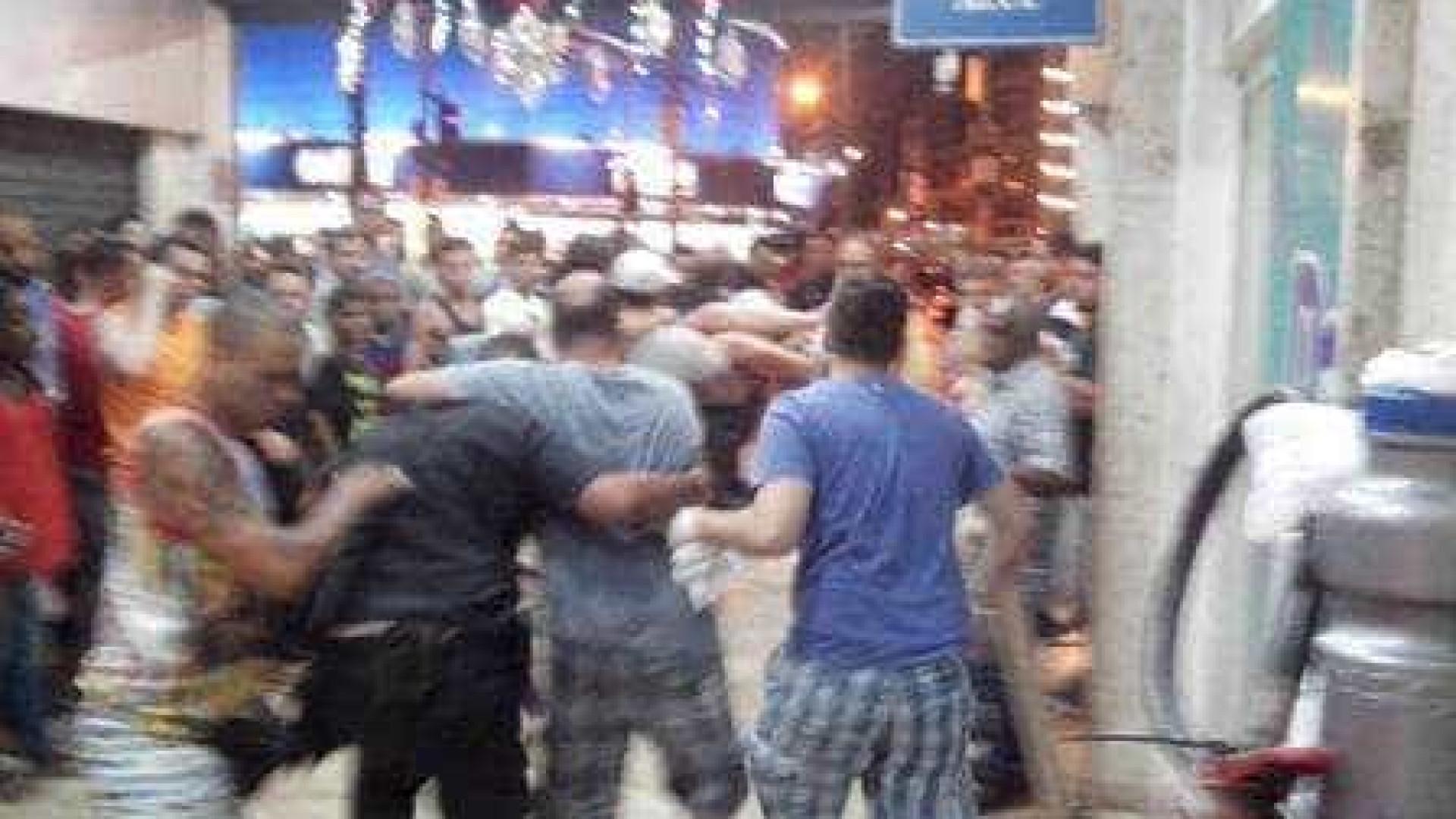 Testemunhas relataram nas redes sociais momentos de pânico no shopping, que  fica na Zona Norte do Rio c3ed42ca85