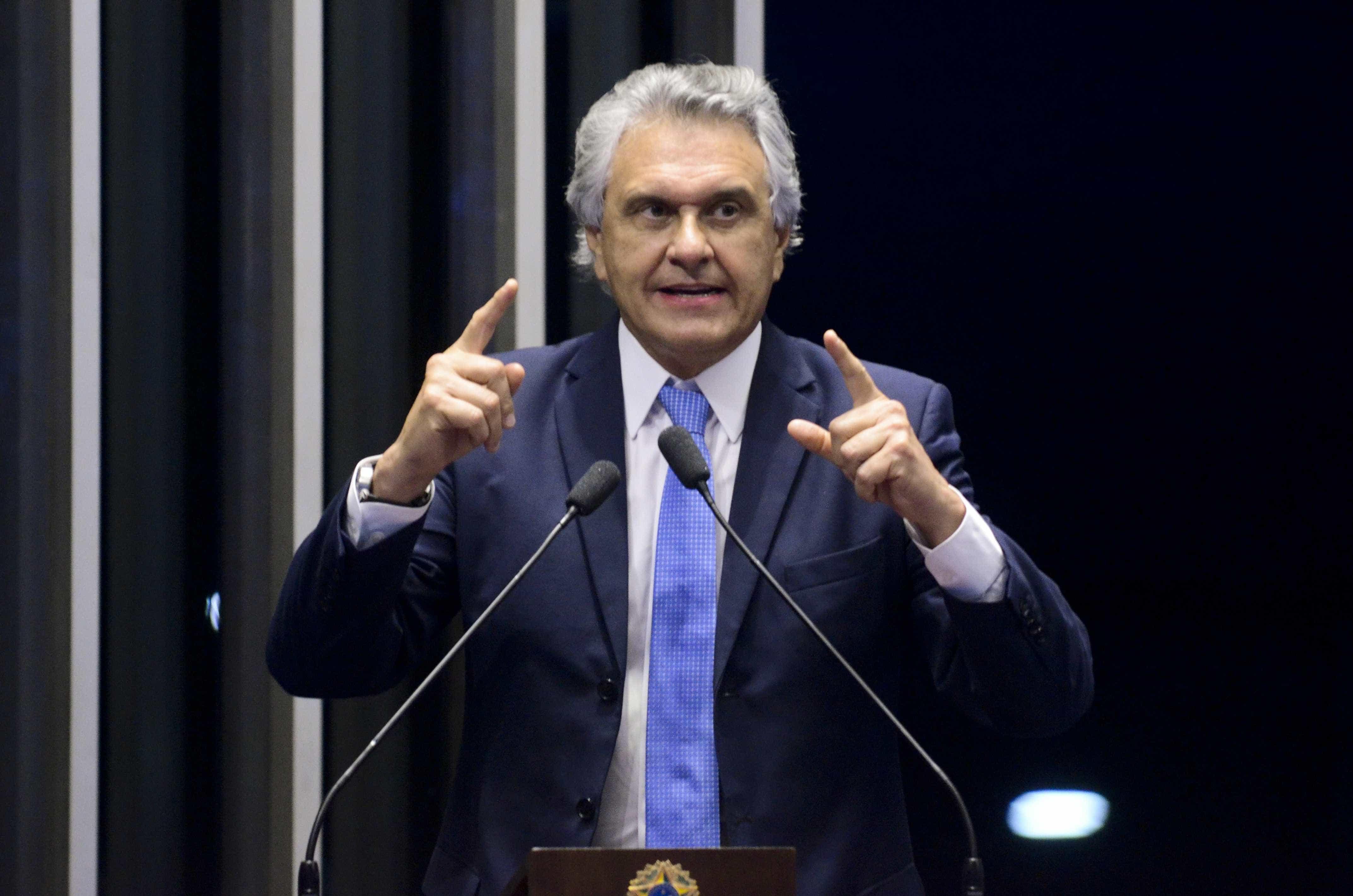 Caiado (DEM) defende união de prefeitos e governadores pela reforma