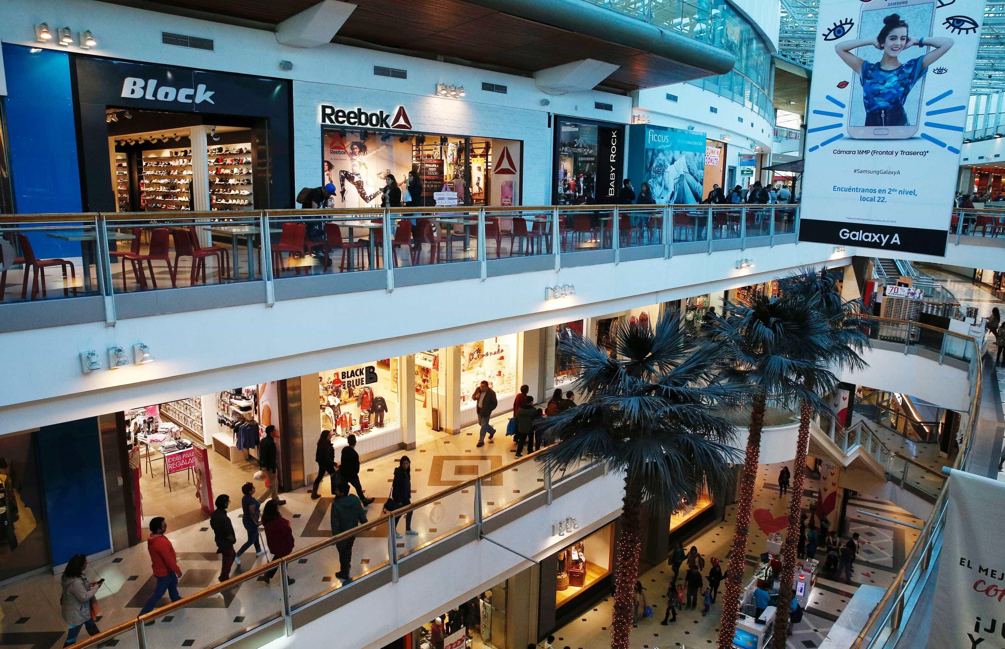 Vendas crescem 4,9% em maio nos shoppings