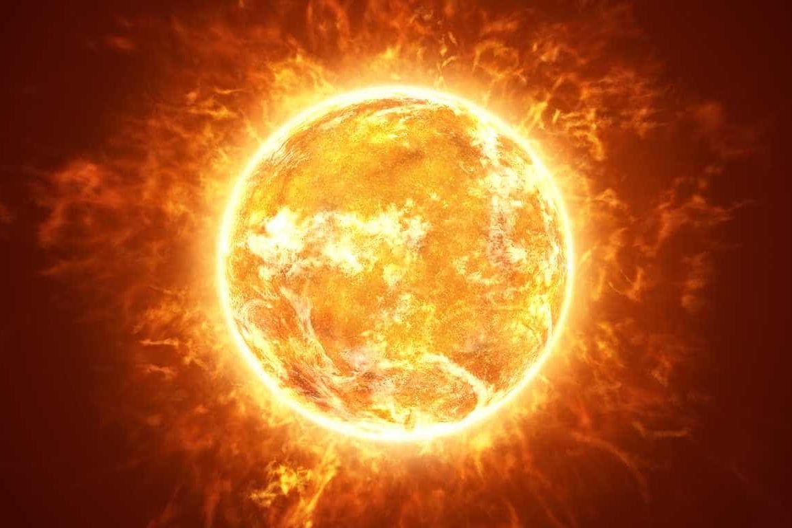 Divulgada aquela que é a primeira fotografia tirada na atmosfera do sol
