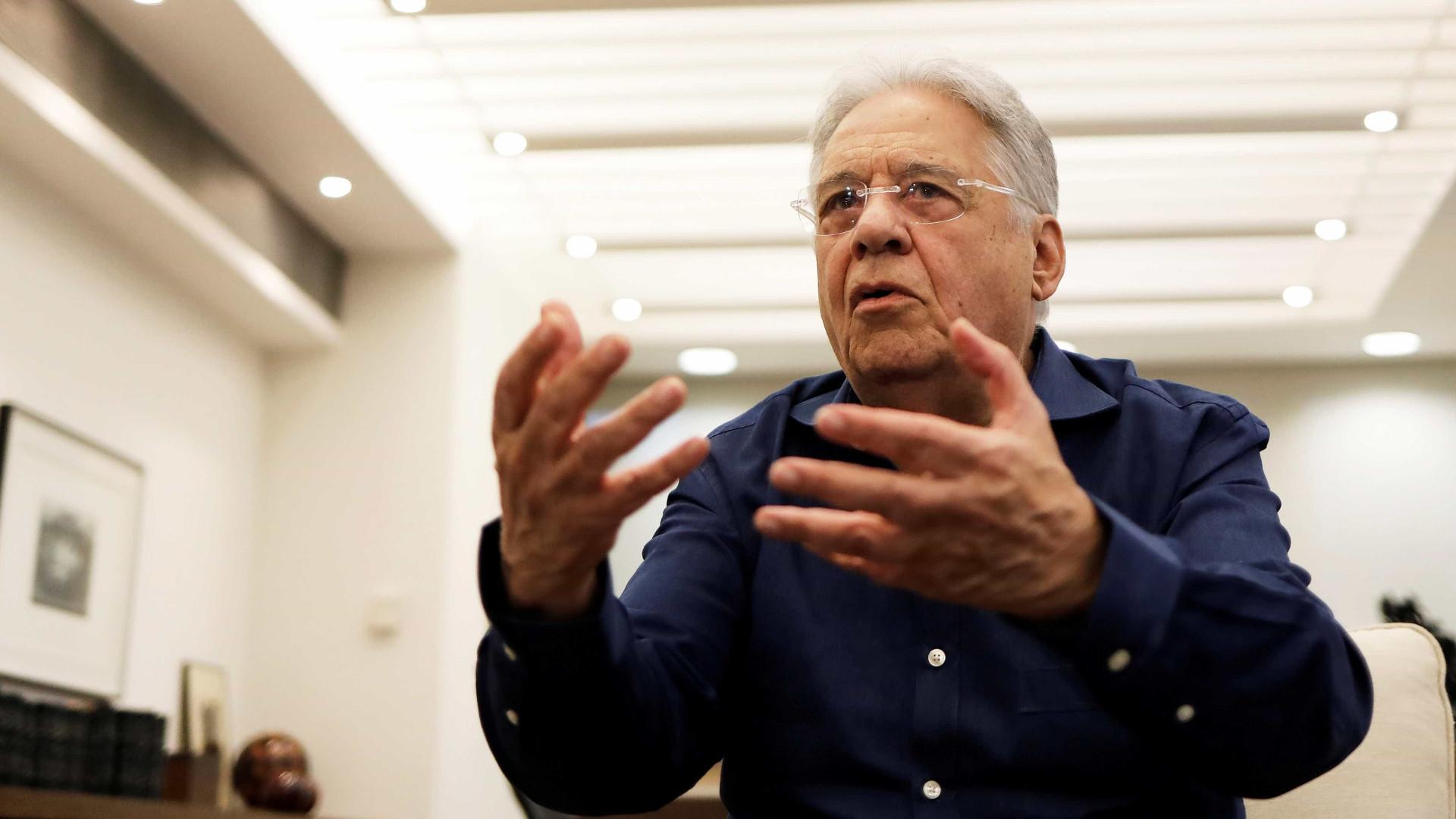 FHC: 'Congresso é forte e presidente que não entende isso pode cair'