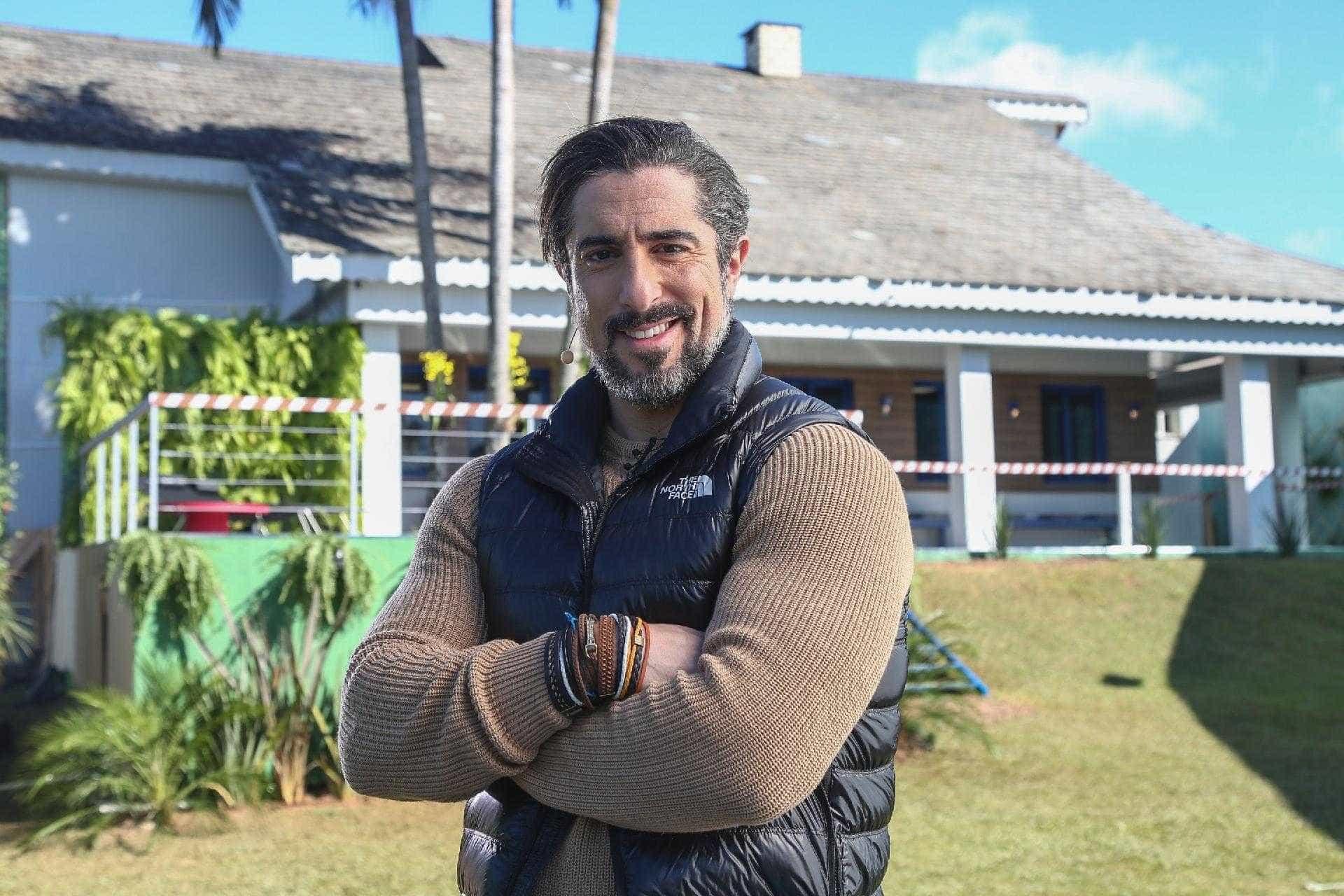 Com sucesso da Fazenda, Marcos Mion renova com a Record