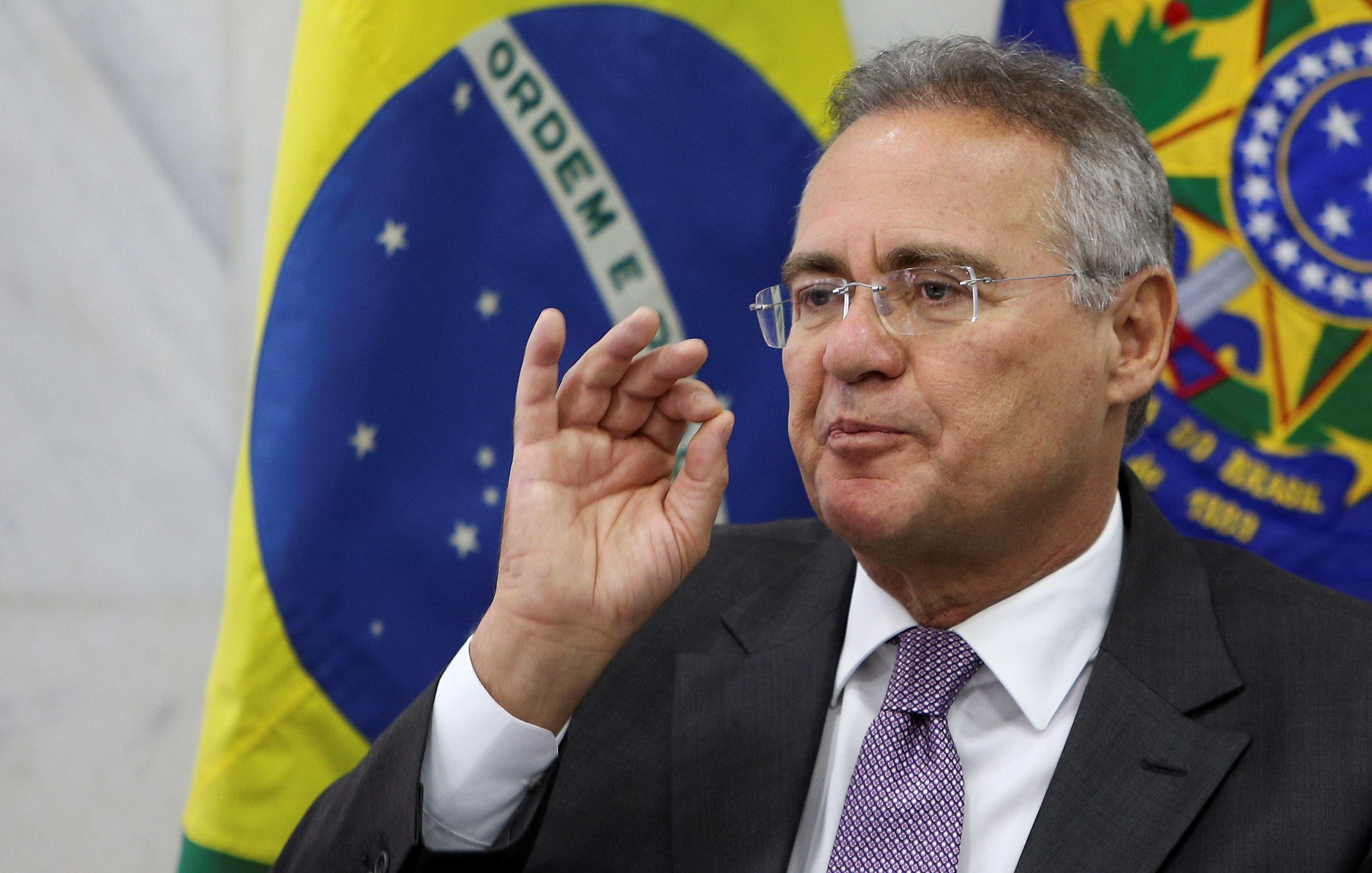Renan Calheiros faz aceno a governo Jair Bolsonaro