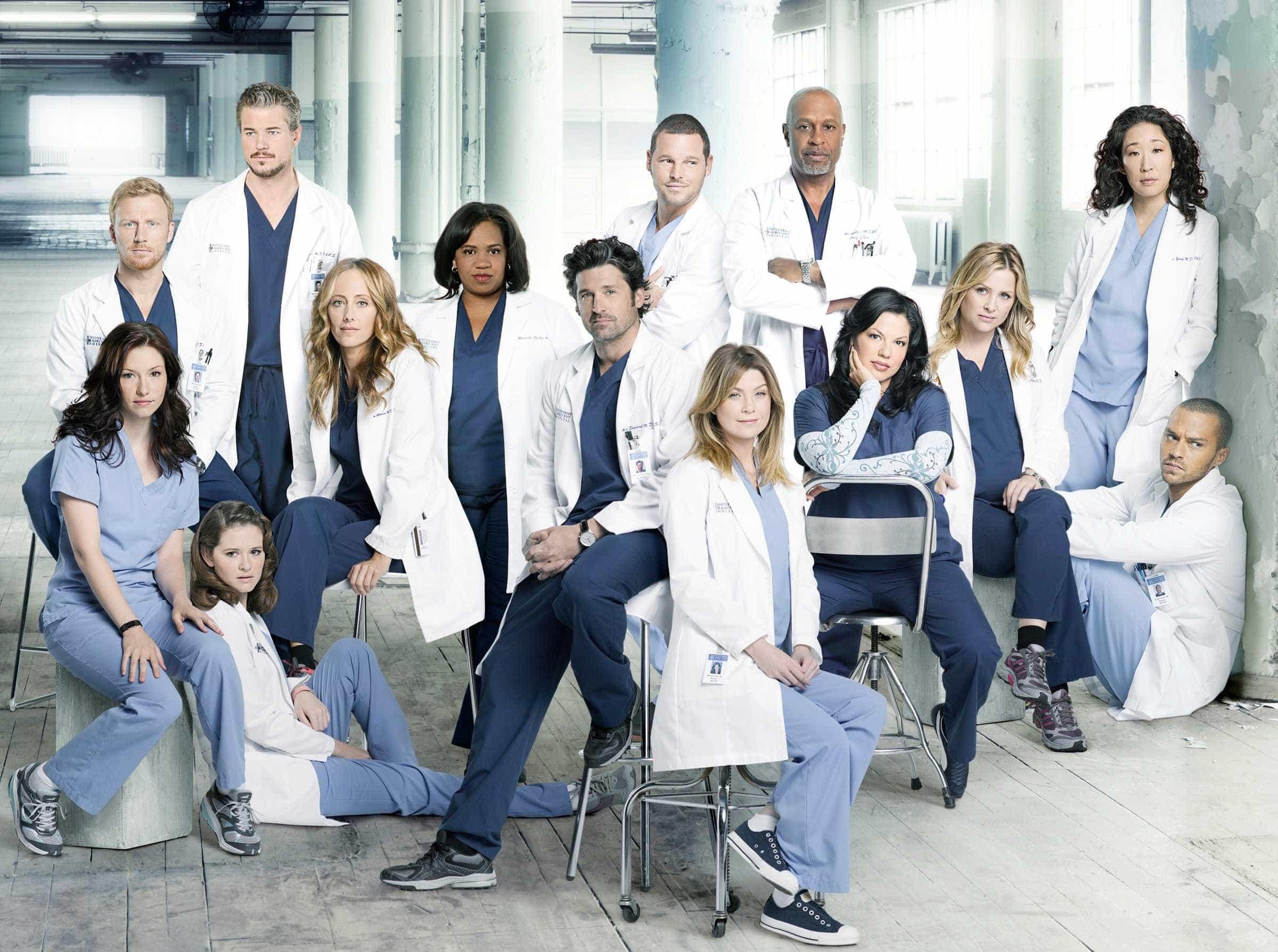'Grey's Anatomy' se torna a série médica mais longa da TV americana