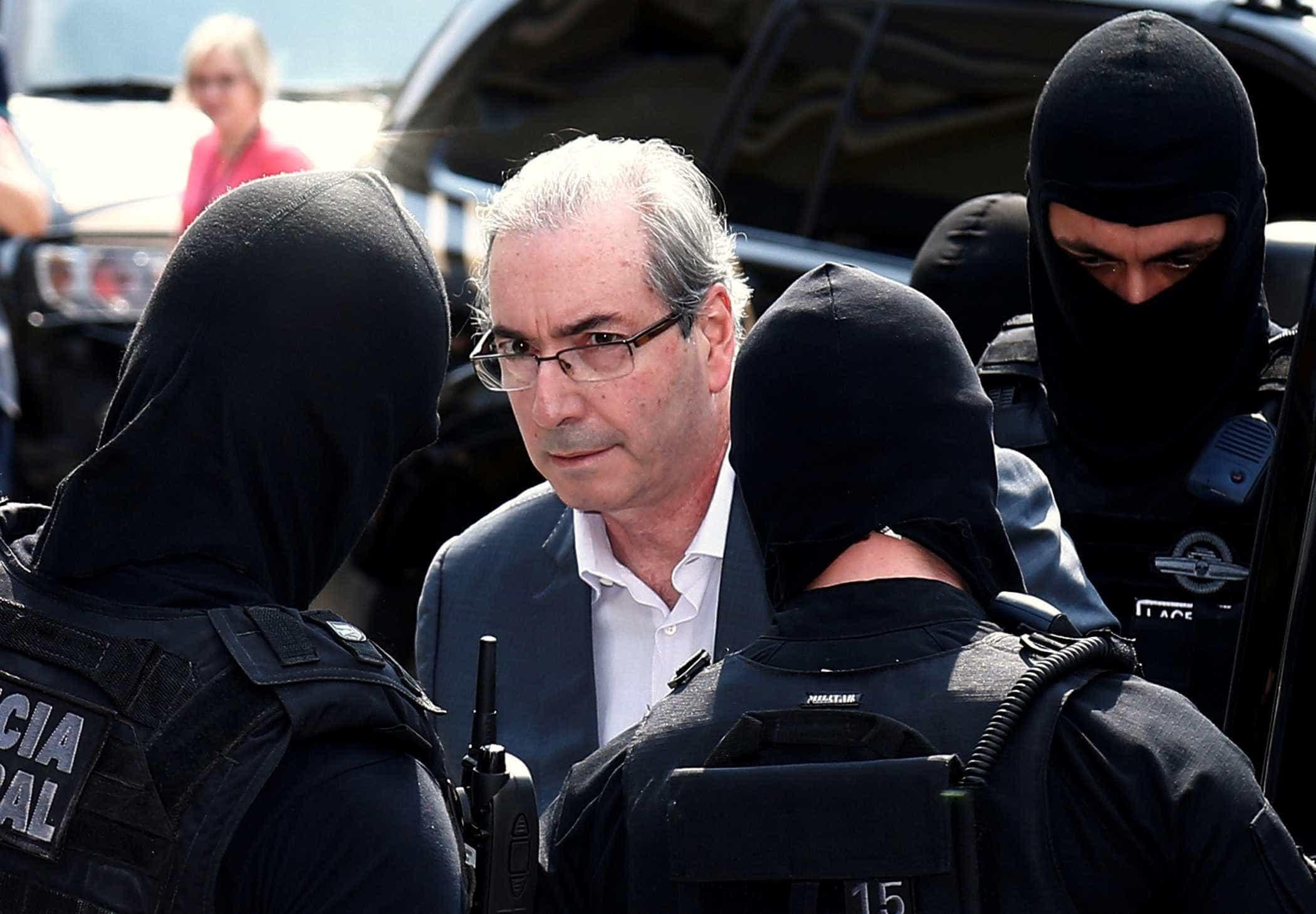 Refeições de Cunha na prisão não poderão custar mais que R$ 14,43