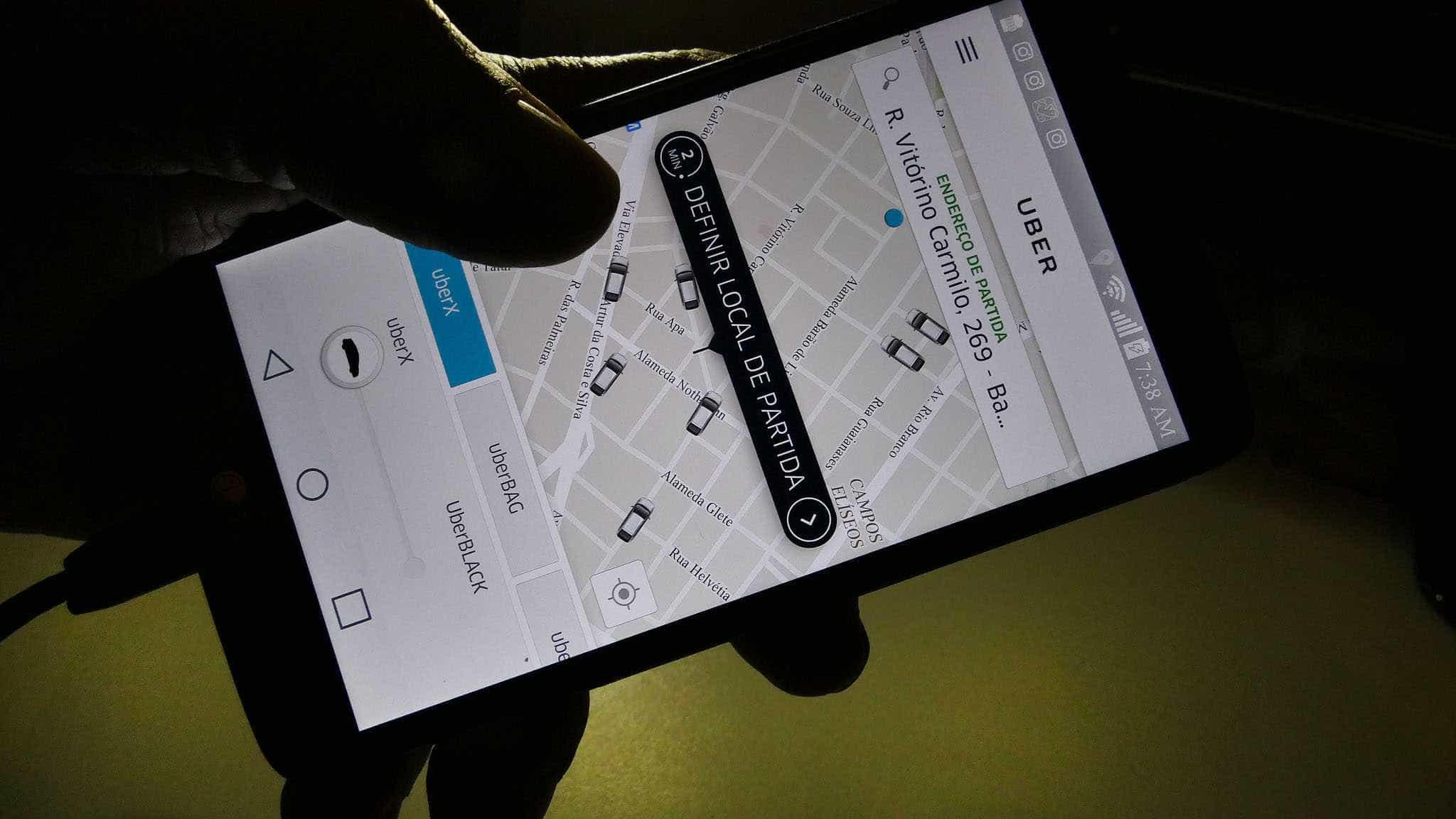 Motoristas de Uber usam o app para transportar droga no DF