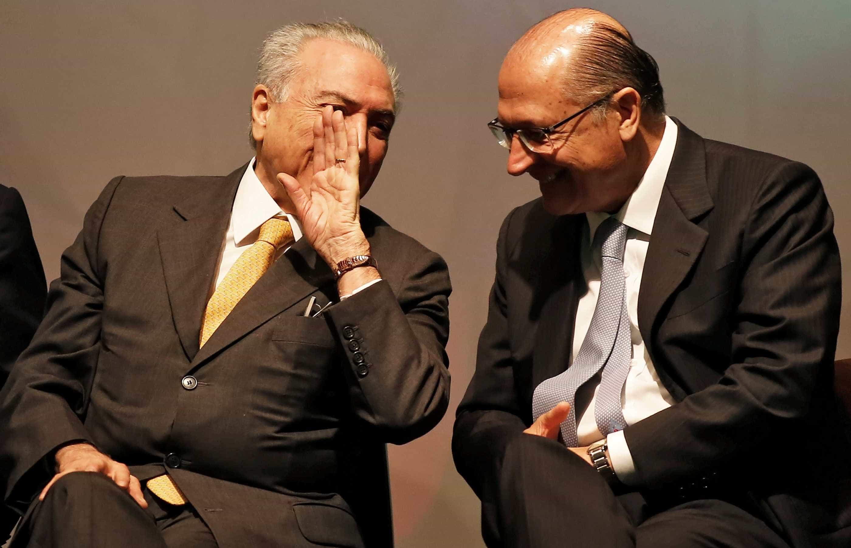 Em troca de apoio, Alckmin pode dar cargo a Temer e blindá-lo com foro