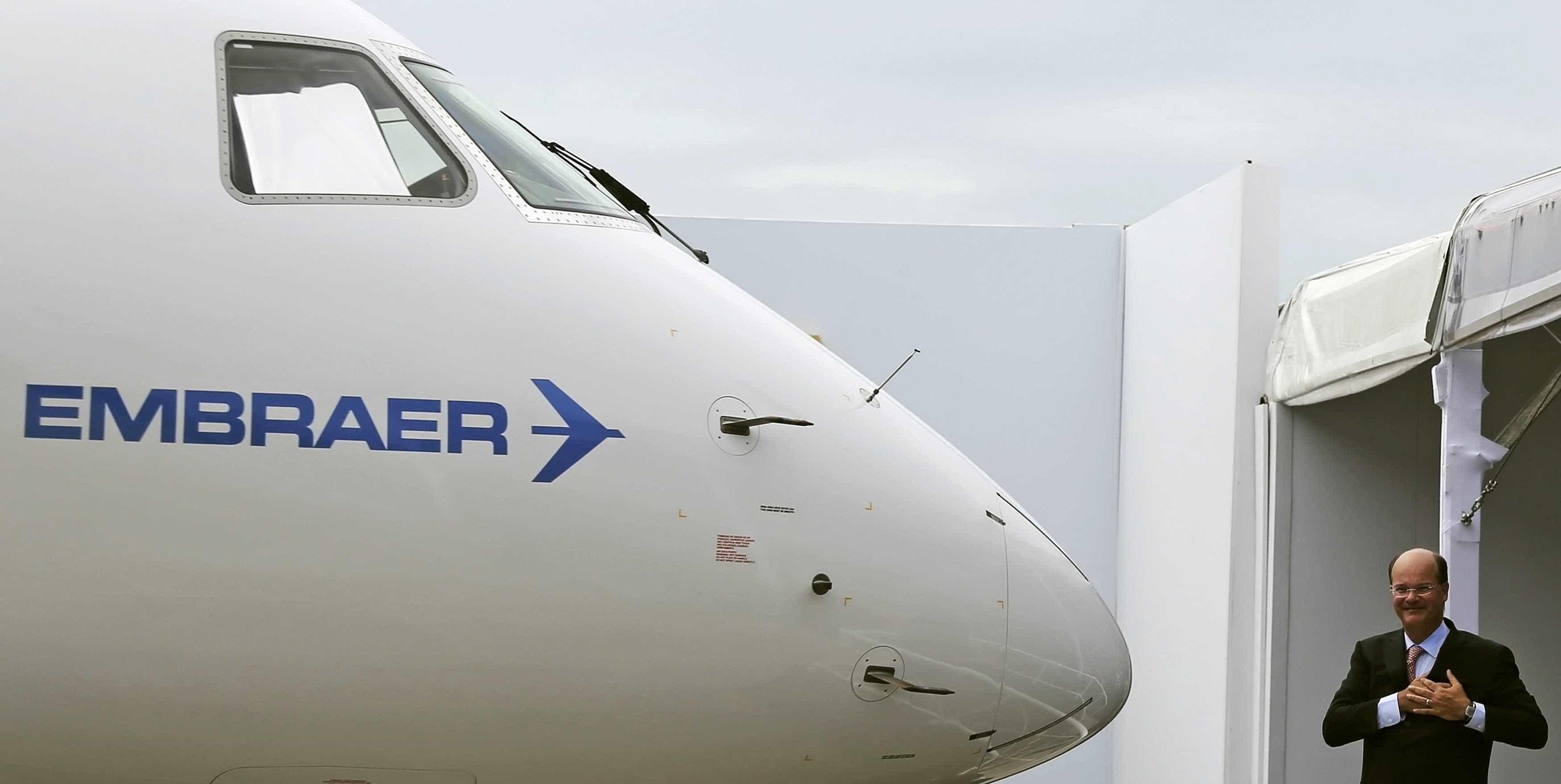 Conselho de administração da Embraer ratifica parceria com Boeing