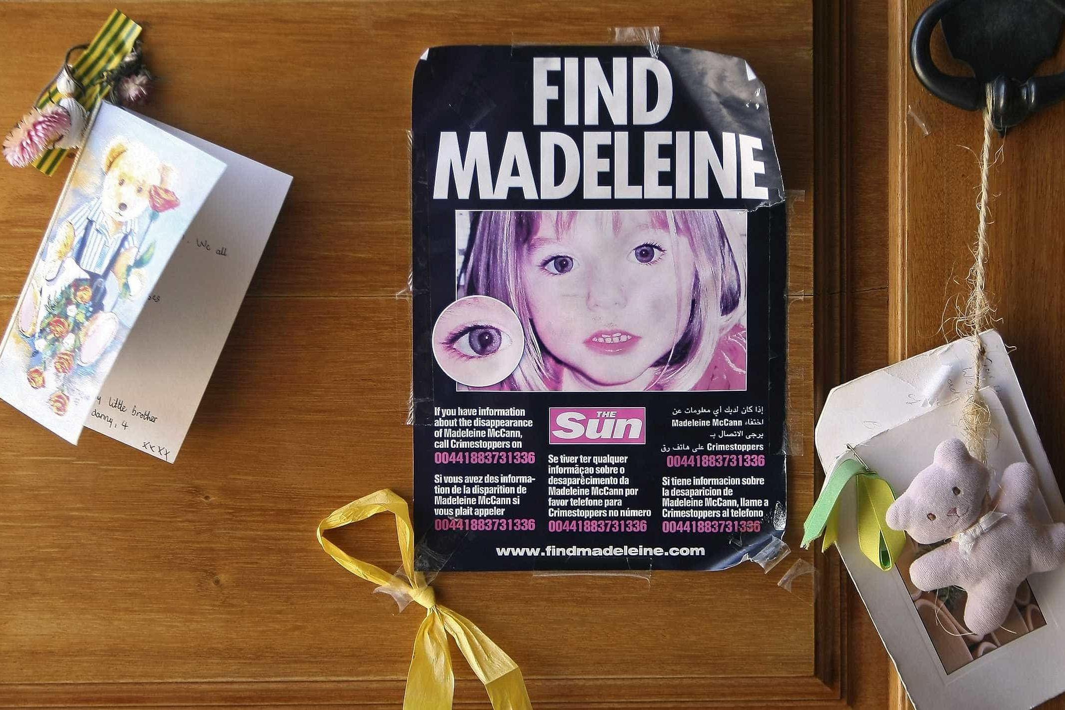 Caso Maddie McCann: polícia pede mais 6 meses de financiamento